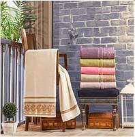 Комплект махровых полотенец баня (70X140) JULIE Dantel, фото 1