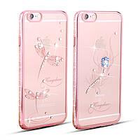 "Чехол KINGXBAR Dragonfly Rose Gold для iPhone 6/6S (4,7""), фото 1"