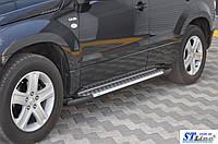 Боковые пороги для Suzuki Grand Vitara (3D) 2006+ ST Line