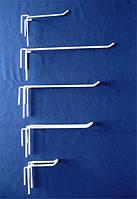 Крючок одинарный на сетку торговую 50 мм