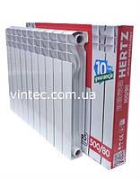 Биметаллический радиатор Hertz 500/80 Польша, фото 1
