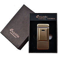 Электроимпульсная USB зажигалка EXQUISITE 4453
