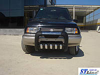 Передняя защита для Suzuki Grand Vitara JLX 1998-2005 Atlas ST Line
