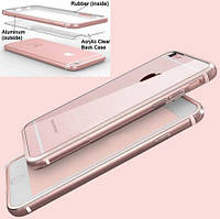 Evoque Metal+TPU+Plastic для Apple iPhone 6/6s Rose Gold