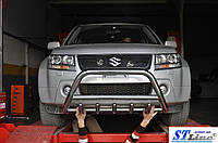 Передняя защита для Suzuki Grand Vitara 1997-2005 Inform ST Line