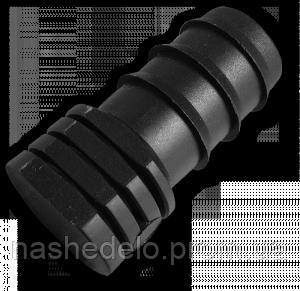 Заглушка для садовой трубки Ф16