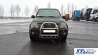 Передняя защита для Suzuki Grand Vitara 2005+ Nero ST Line