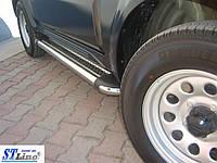 Боковые пороги для Suzuki Jimni 1998-2013 ST Line