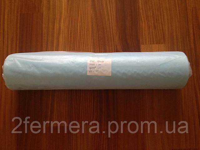 Простынь одноразовая 17гр 0,8*100м. голубая