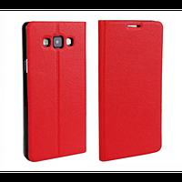 Чехол-книжка для Samsung Galaxy A7 красный