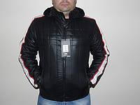 """Куртка осенняя мужская """"AKSS"""" черная"""