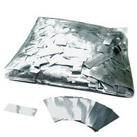 Конфетти - ''Метафан'' серебряный, металлизированный 1*4 см