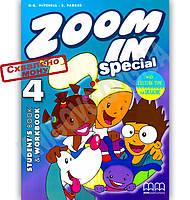 Підручник Англійська мова 4 клас Zoom in Special 4 Авт: Mitchell H.Q. Вид-во: MM Publications