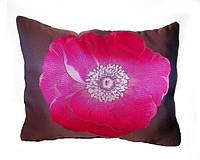 Подушка декор панно Цветы 50*60см