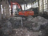 Демонтаж дачных домов  зданий сооружений Киев