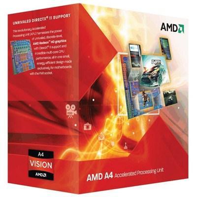 Процессор AMD A4 X2 5300 (Socket FM2) Box