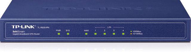 Маршрутизатор TP-Link TL-R600VPN_грн SafeStream (1*Gigabit WAN, 4*Gigabit LAN, VPN)