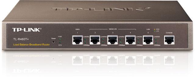 Маршрутизатор TP-Link TL-R480T+_грн с балансировкой нагрузки(1x Lan, 1xWan, 3xLan/Wan, console)