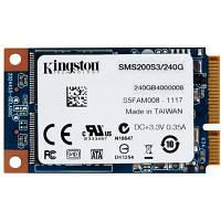 Накопитель SSD 240GB Kingston mSATA mS200 (SMS200S3/240G)