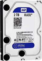 Жесткий диск HDD SATA  2TB WD, 64Mb Blue (WD20EZRZ)