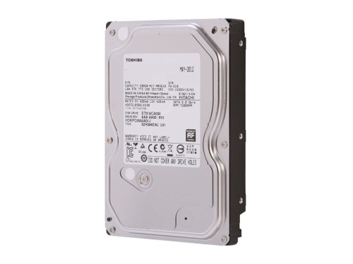 Накопитель HDD SATA  500Gb TOSHIBA, 32Mb, DT01ACA050