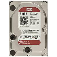 Жесткий диск HDD SATA 3.0Tb WD, 64Mb, Caviar RED (WD30EFRX )