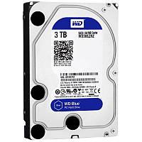 Жесткий диск HDD SATA  3TB WD, 64Mb Blue (WD30EZRZ)