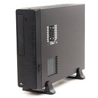 Корпус ProLogix M02/103 Black PSMS-400-8cm MicroATX/ITX CardReader microSD/SD