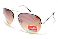 Очки Ray Ban Aviator 002 С5 SM 01773, солнцезащитные очки Рей Бен коричневые капли