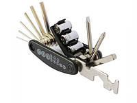 Набор инструмента/мультитул вело/велосипедный 16-в-1 Roswheel 22047-1