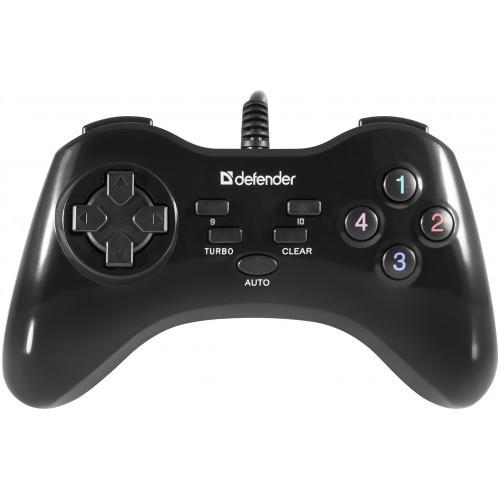 Геймпад Defender Master G2 (64258) черный USB
