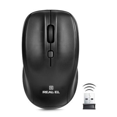 Мышка REAL-EL RM-310 black