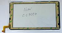 Nomi c07004 MTCTP-70760 сенсор тачскрін чорний 184x104мм, 31 pin