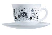 Чайный сервиз Luminarc Alcove black H2446 (12 предметов)