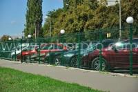 Заборы для парковок