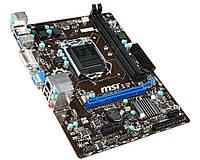 Мат. плата MSI H81M-P33 Socket 115 0