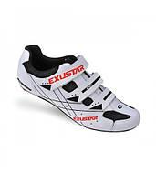 Обувь EXUSTAR Road SR493 размер 46 бело-черные
