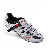 Обувь EXUSTAR Road SR493B размер 40 бело-черные