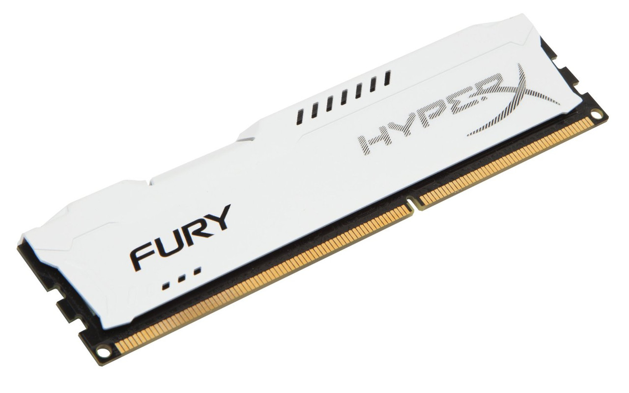 Модуль памяти DDR3 4Gb 1600 MHz HyperX Fury White Kingston (HX316C10FW/4)