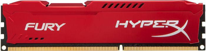 Модуль памяти DDR3 8Gb 1600 MHz HyperX Fury Red Kingston (HX316C10FR/8)