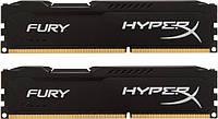 DDR3 2x4GB 1866MHz Kingston HyperX Fury Black (HX318C10FBK2/8)