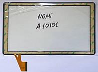 "Nomi a10101 с07002 DH-1012A2-FPC062-V4.0 сенсор тачскрін чорний 254x146mm 50pin 10"""