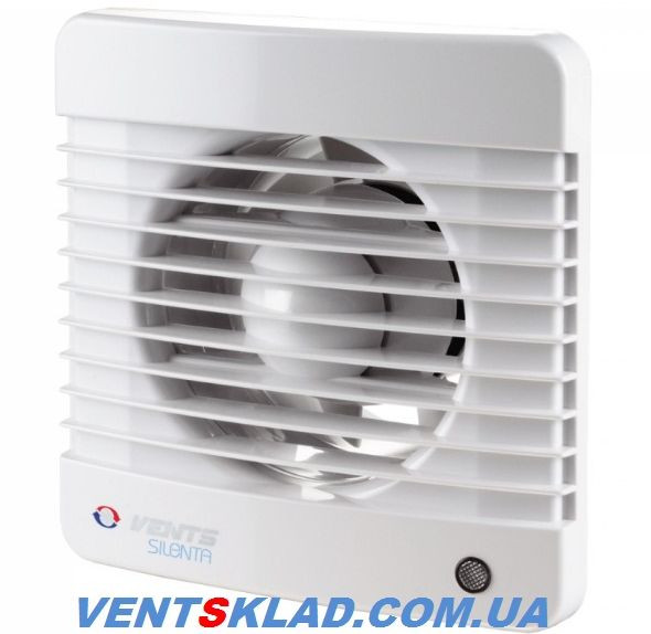 Вентилятор Вентс 150 Силента-МТН, з датчиком вологості і таймером