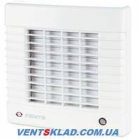 Вентилятор вытяжной Вентс 100 МА Л, с жалюзи и на подшипниках