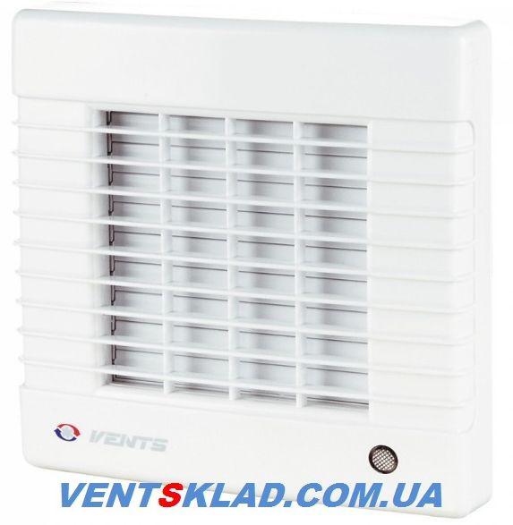 Вентилятор вытяжной с жалюзи Вентс 125 МА