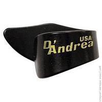 Медиатор D Andrea 373 LG BLK, 72шт