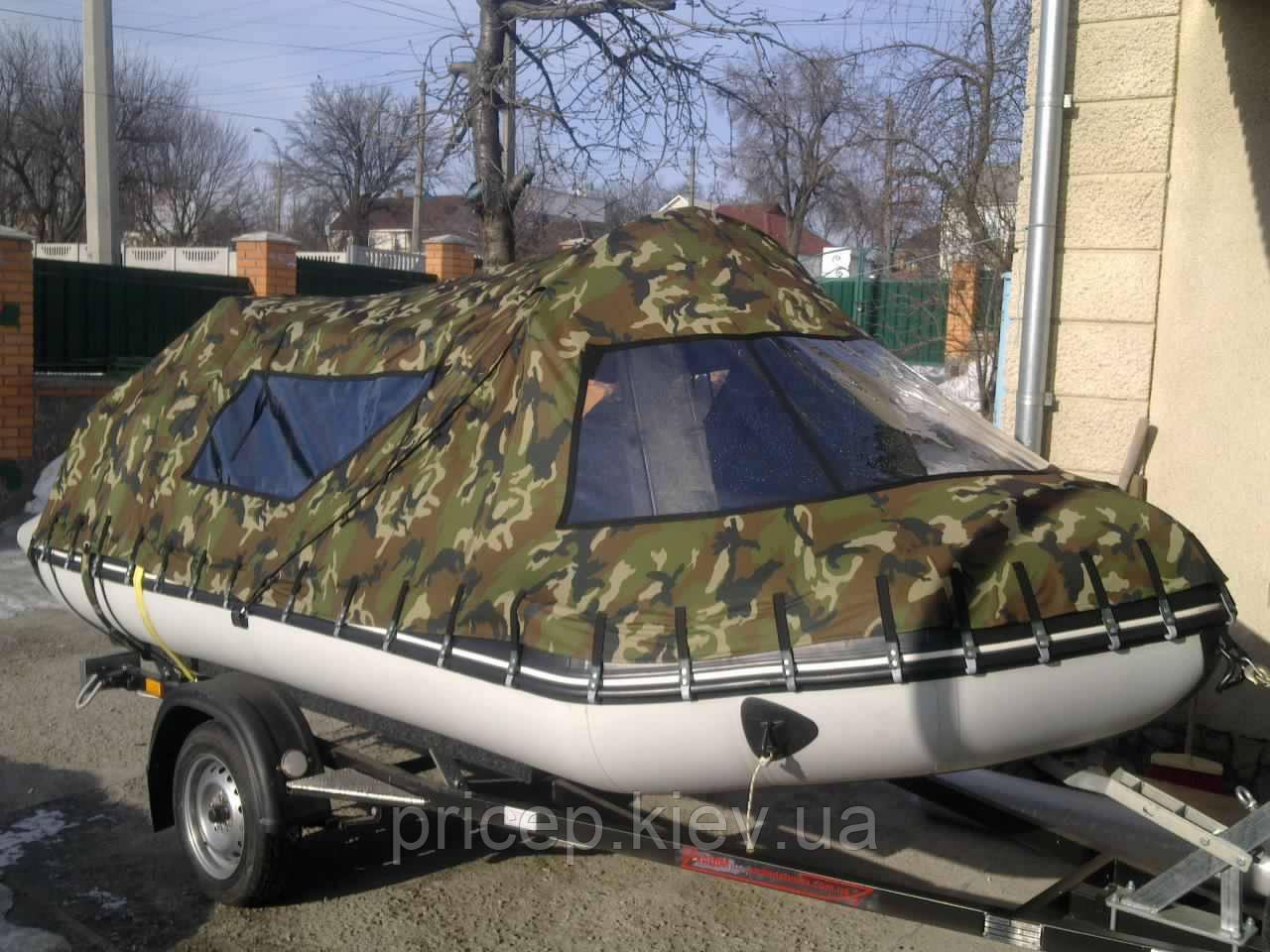 Прицеп для надувной лодки.