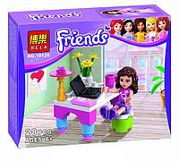 Конструктор Brick Friends Лаборатория Оливии 10126