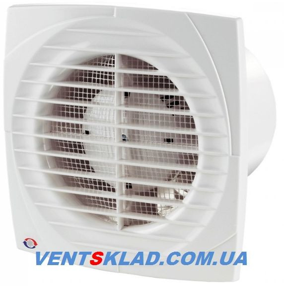 Вентилятор осевой вытяжной с антимоскитной сеткой до 292 м3/час Вентс 150 Д