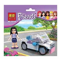 Конструктор Brick Friends Спортивний автомобиль Эмми 10119